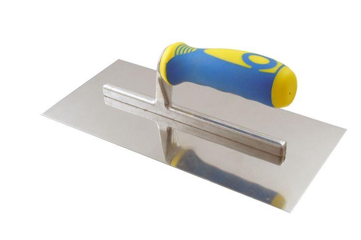 Frattazzo con manico in plastica