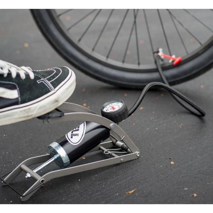 uso pompa a pedale