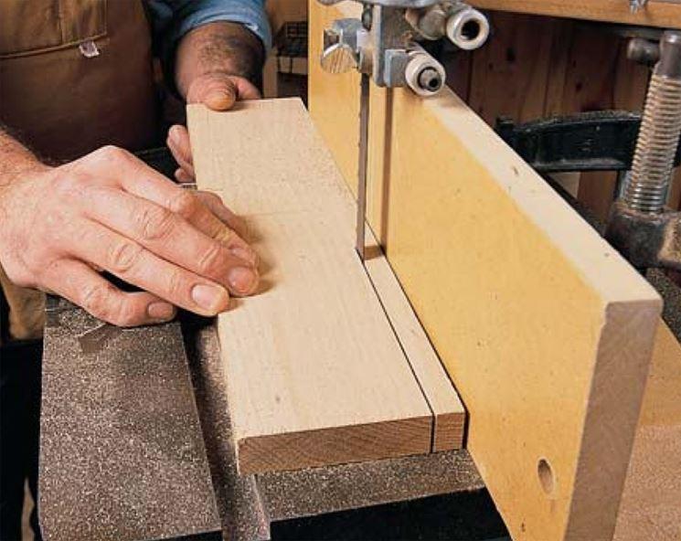 Sega nastro legno