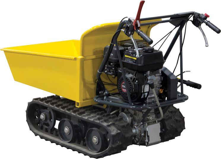La carriola motorizzata per terreni impervi e fangosi