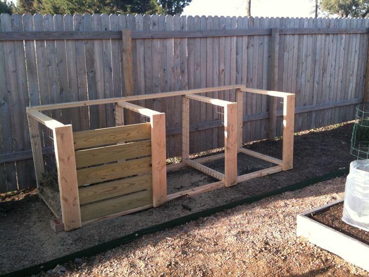 Composter fai da te attrezzi da giardinaggio - Compost casalingo ...