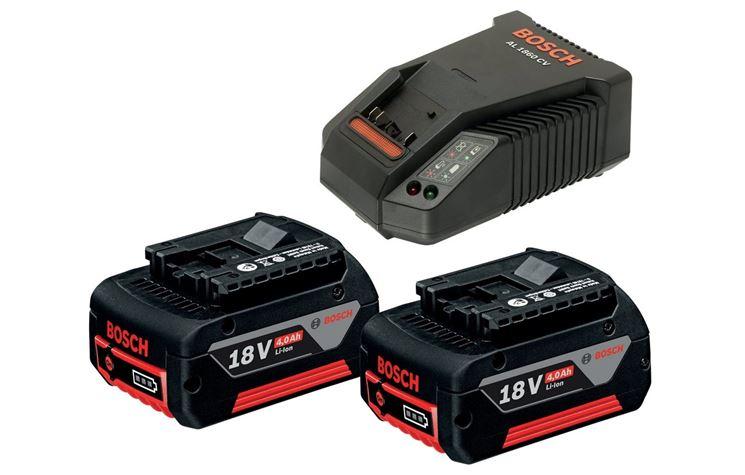 Batterie e carica batterie di un avvitatore