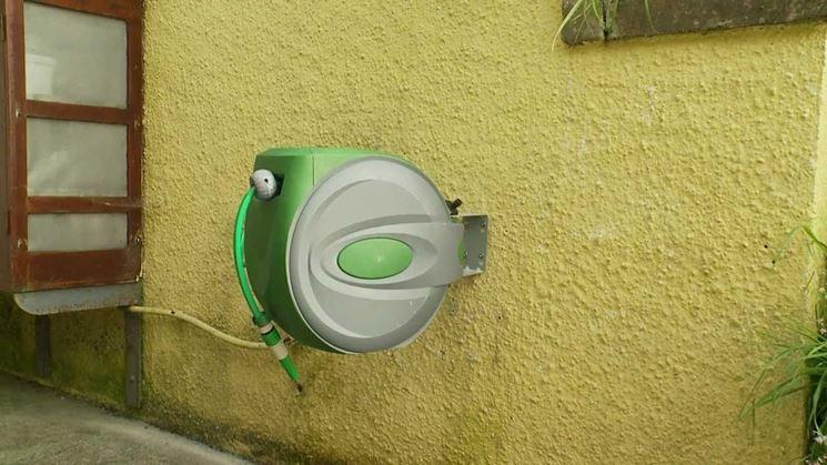 Avvolgitubo automatico a muro