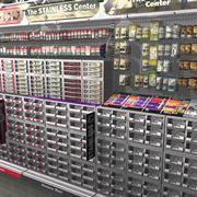 Banco minuteria di un supermercato