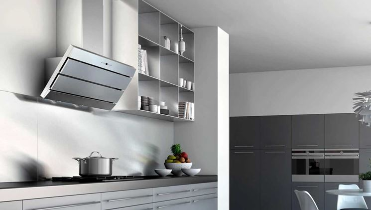 Aspiratore cappa cucina componenti cucina cappe aspiranti per cucina - Scarico fumi cappa cucina a parete ...