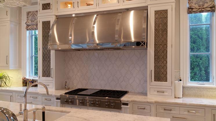 Cappa acciaio inox componenti cucina tipologie di for Cappa acciaio