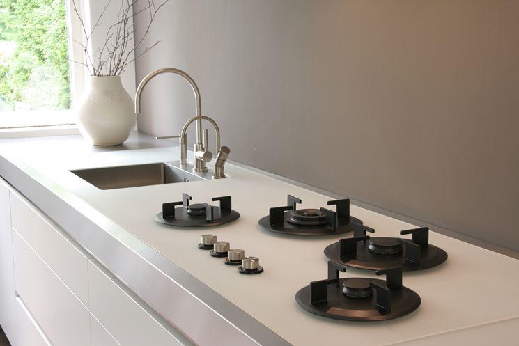 Dimensioni piano cottura componenti cucina modelli piano cucina - Piano cucina fai da te ...