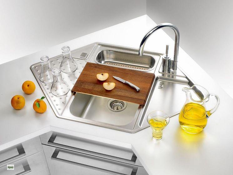 Lavelli cucina angolari - Componenti cucina - Modelli lavello