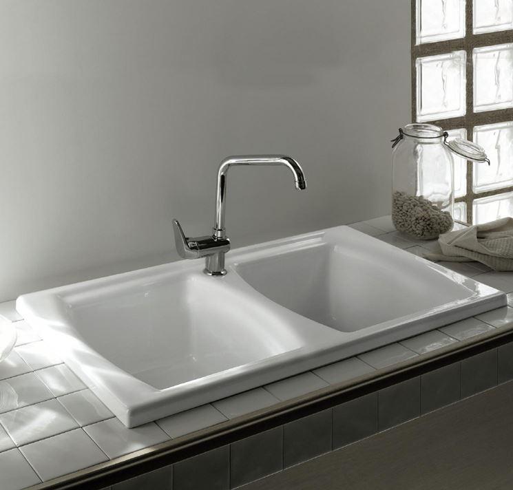 Lavelli da incasso componenti cucina lavelli da - Lavelli da bagno ...