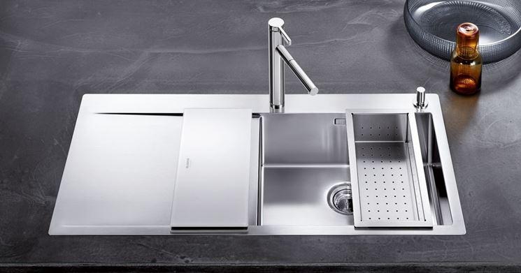 Lavello acciaio inox componenti cucina installare for Lavello cucina prezzi