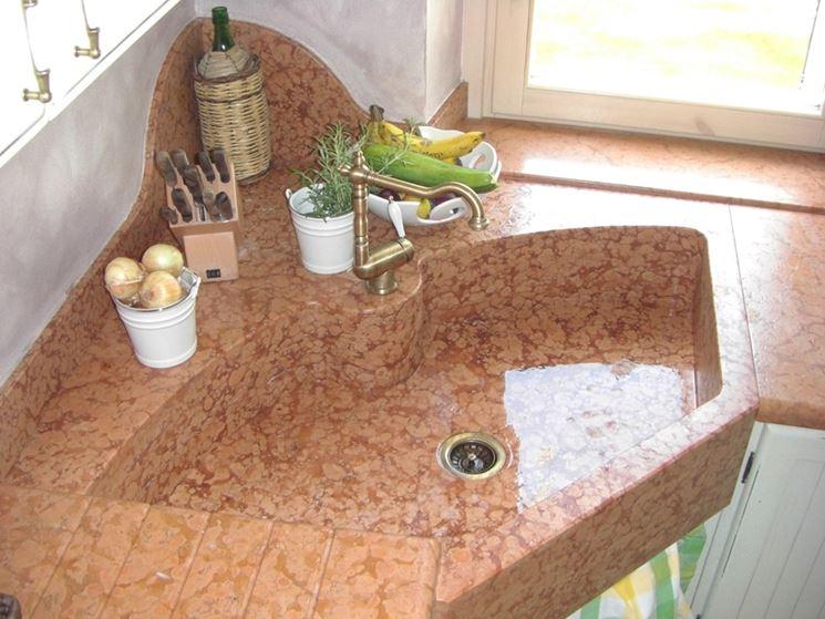 Lavello ad angolo - Componenti cucina - Modelli di lavello ad angolo