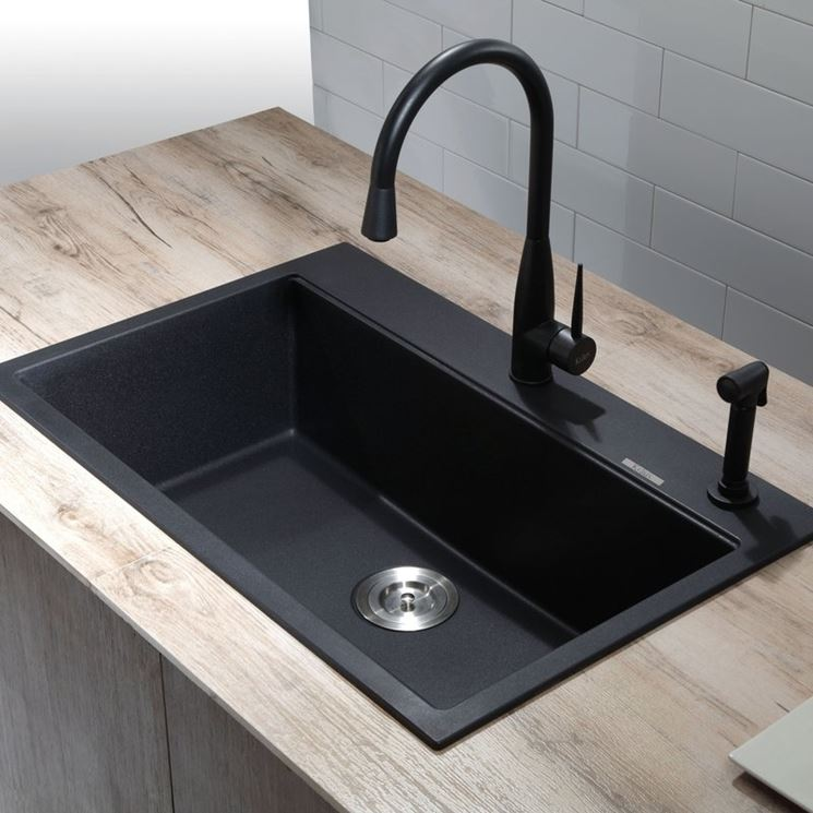 Lavello in resina - Componenti cucina - Vantaggi del lavello in resina
