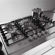 Piano cottura in acciaio Whirlpool