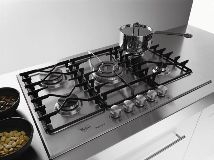 Piani cottura in acciaio componenti cucina piani - Piani da cucina ...