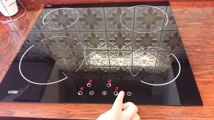Piano cottura vetroceramica