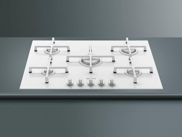 Piano cottura bianco componenti cucina scegliere un piano cottura bianco - Piano cucina fai da te ...