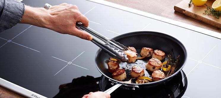 Piano cottura induzione componenti cucina arredo cucina - Cucinare con induzione ...