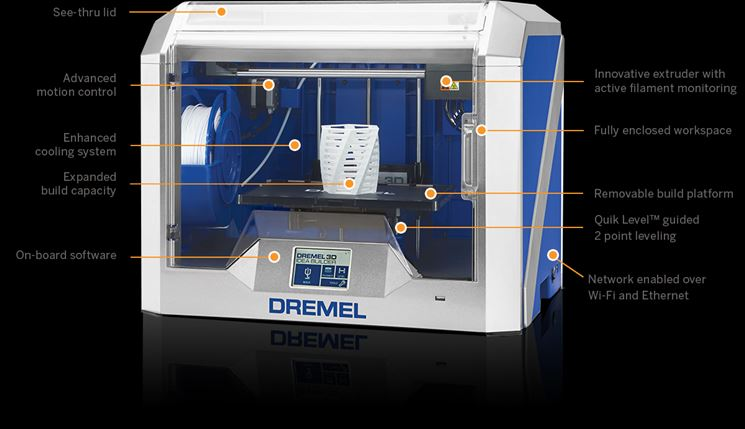 Stampante 3D40 IdeaBuilder Dremel