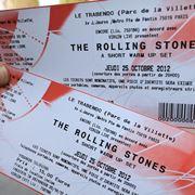 Biglietti per concerto musicale