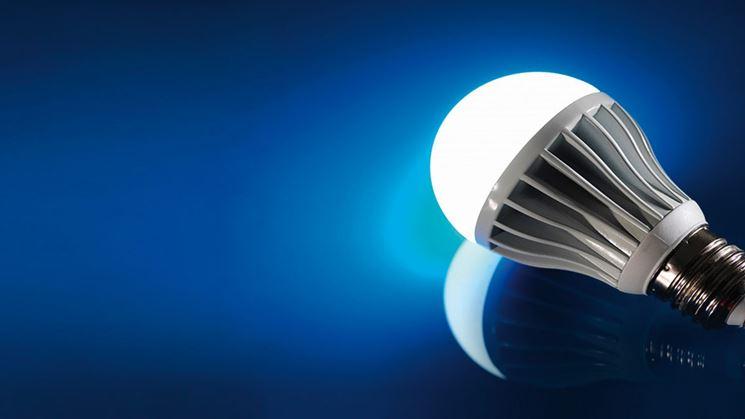 lampadina energia elettrica