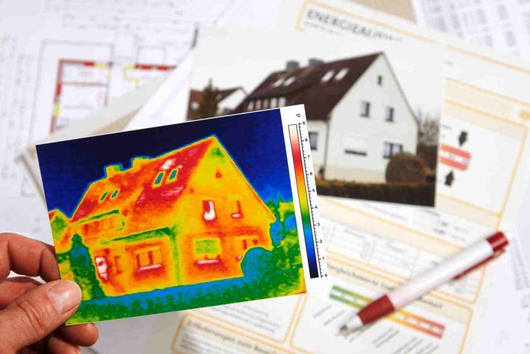 termografia per consumo energetico edificio