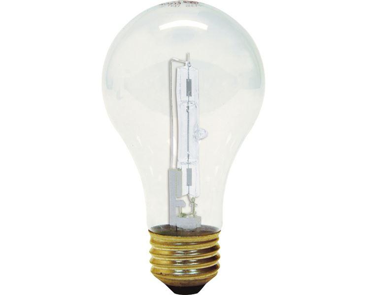 Una classica lampadina alogena