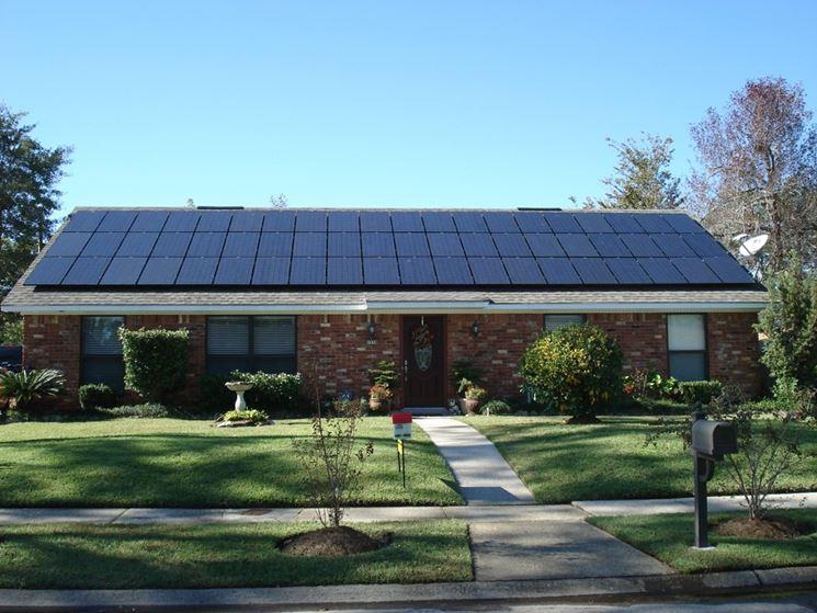 Fotovoltaico impianto casa