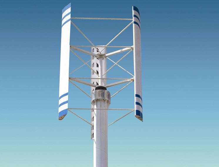 Turbine eoliche ad asse verticale