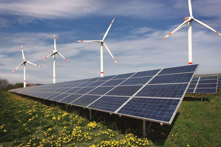 Energia eolica e quella solare