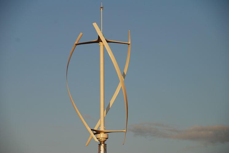 Il mini eolico, modello verticale