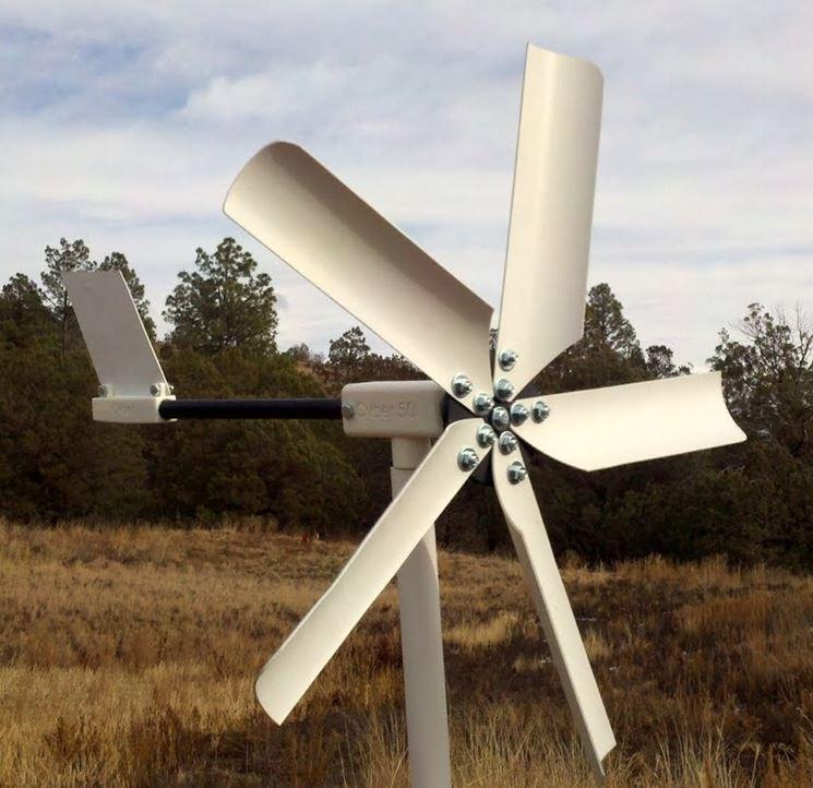 costruire mini eolico fai da te