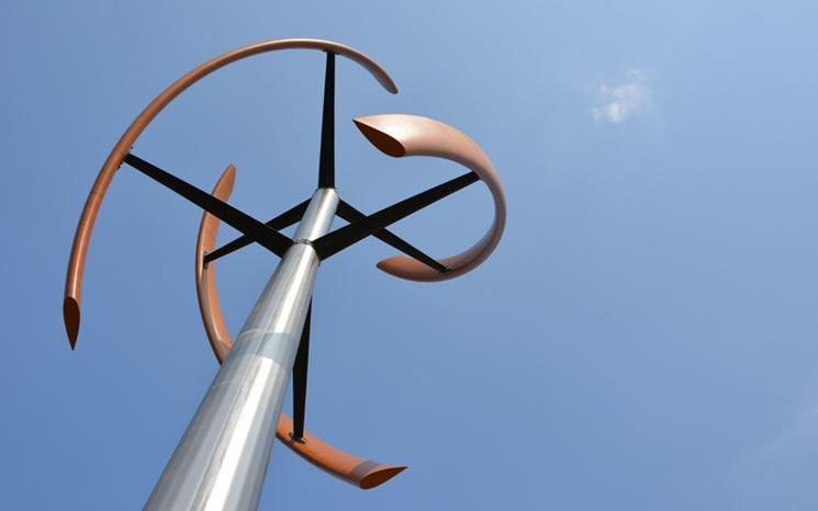 Un tipo di mini eolico domestico