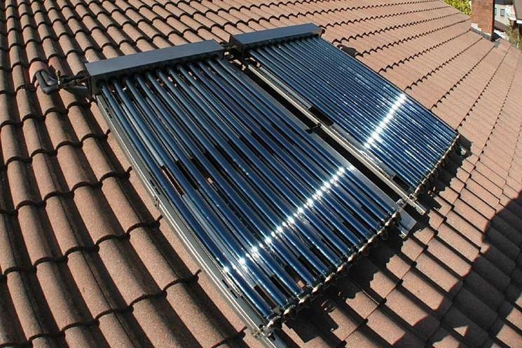 Pannello Solare Termico Integrato : Pannelli solari termici energia eolica