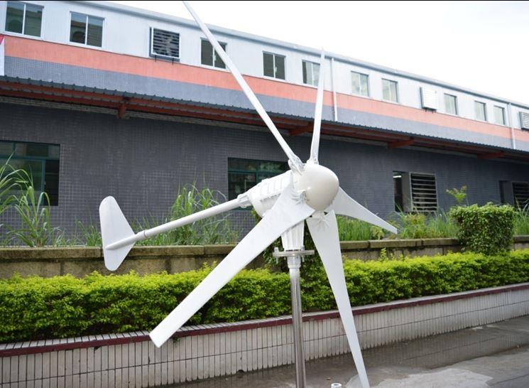 Altro tipo di turbina eolica.
