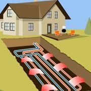 Impianto di riscaldamento geotermico