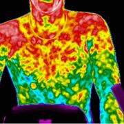 Termogramma con temperature relative