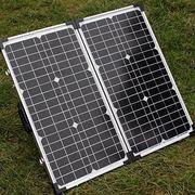 Coppia di pannelli solari