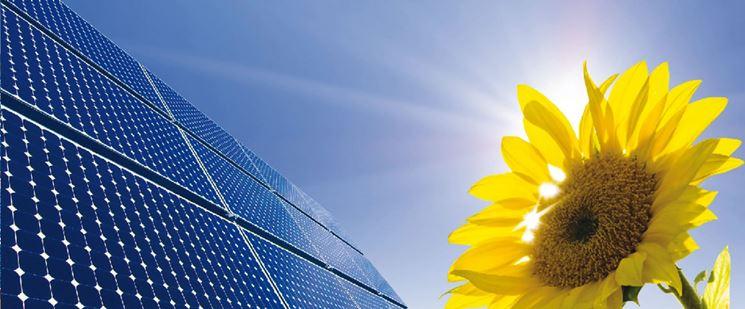Pannelli per l'energia solare rinnovabile