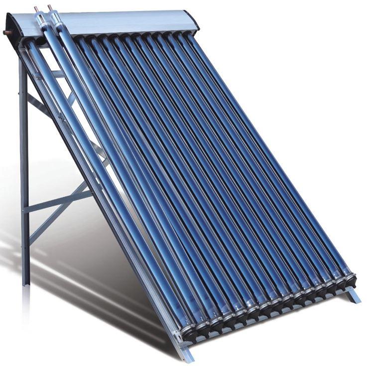 Impianto solare con pannelli scoperti