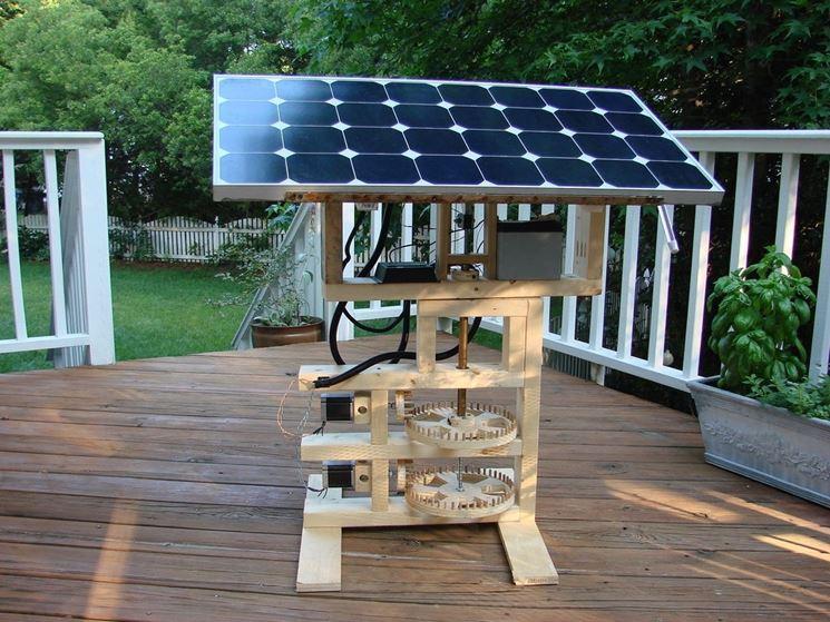 sfruttare energia solare con inseguitore