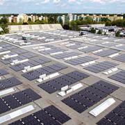 Architettura di pannelli solari