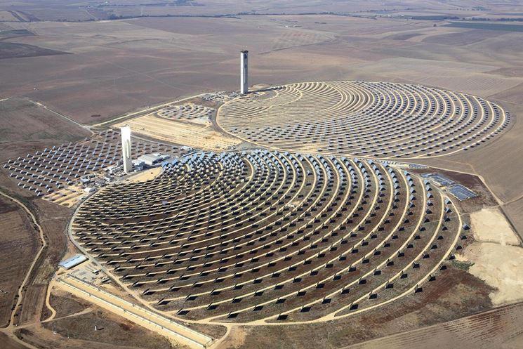 Imponente impianto solare fotovoltaico