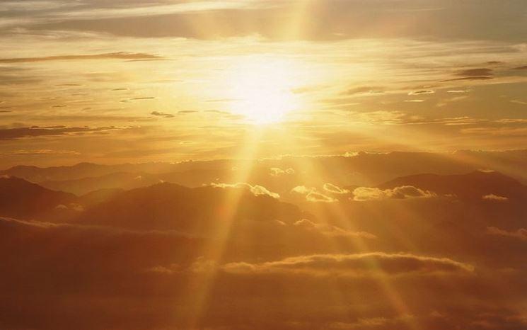 L'energia dei raggi solari
