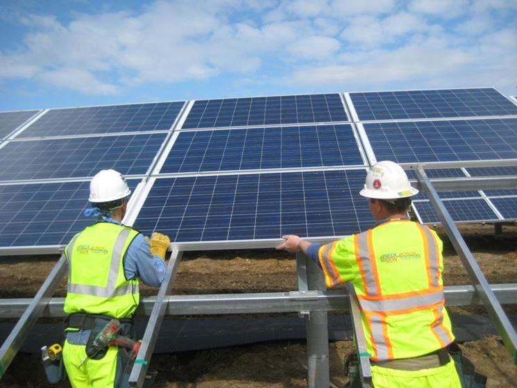 Professionisti installazione pannelli solari