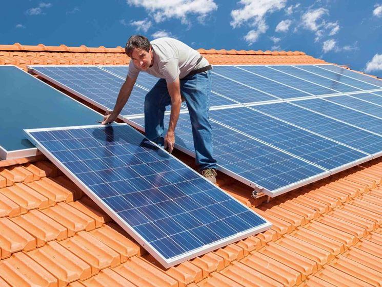 Installazione di pannelli fotovoltaici