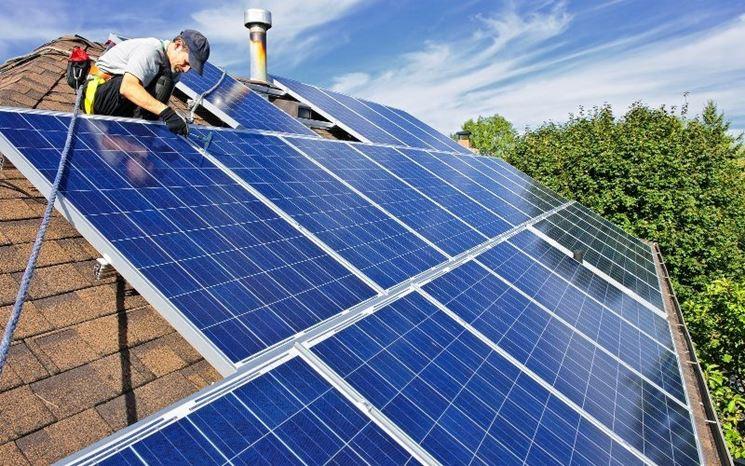 Copertura fotovoltaica sui tetti