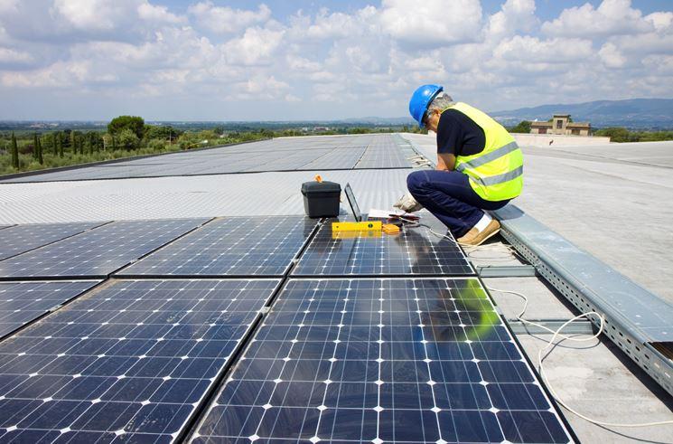 Manutenzione impianto fotovoltaico