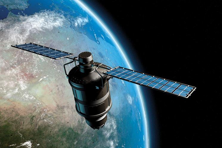 Una sonda spaziale alimentata da pannelli solari