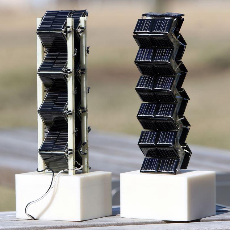 Esempi fotovoltaici 3D