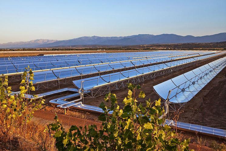 Imponente impianto fotovoltaico a concentrazione
